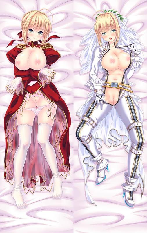 Fate/EXTRA 赤セイバー 抱き枕カバー