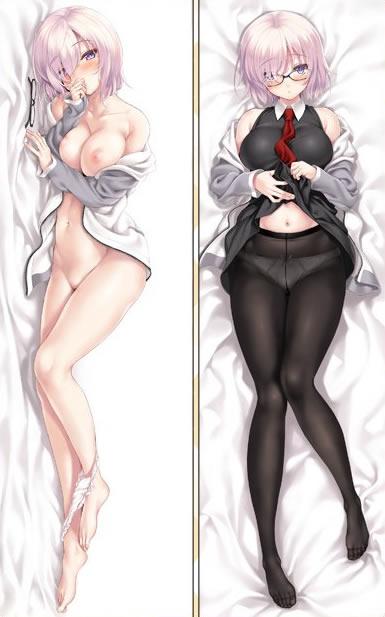 Fate/GrandOrder マシュ・キリエライト 抱き枕カバー
