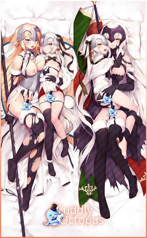 Fate/GrandOrder ジャンヌ·ダルク,ジャンヌ·ダルク(オルタ),ジャンヌ・ダルク・オルタ・サンタ・リリィ 抱き枕カバー
