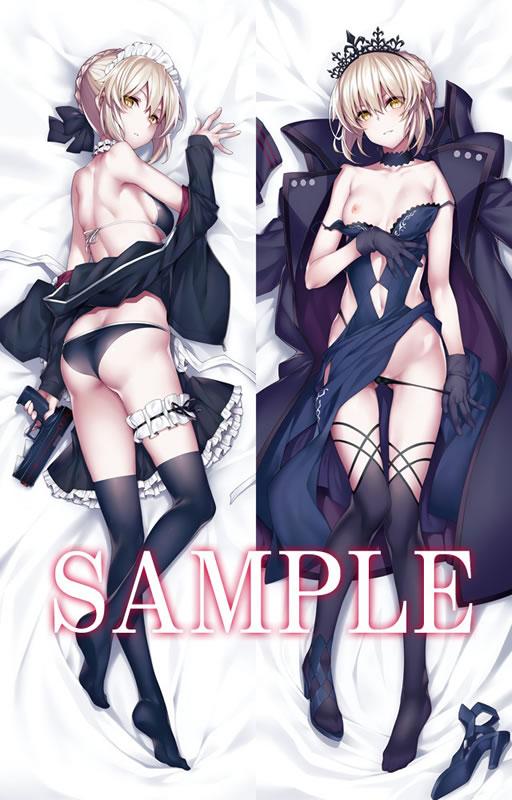 Fate/GrandOrder セイバーオルタ 抱き枕カバー