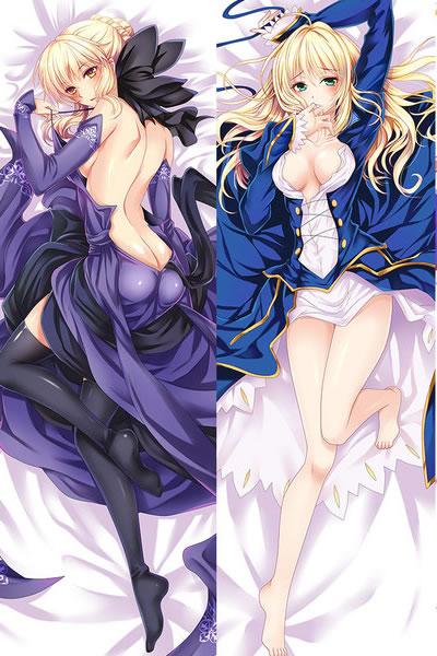 Fate/GrandOrder セイバー&セイバーオルタ 抱き枕カバー