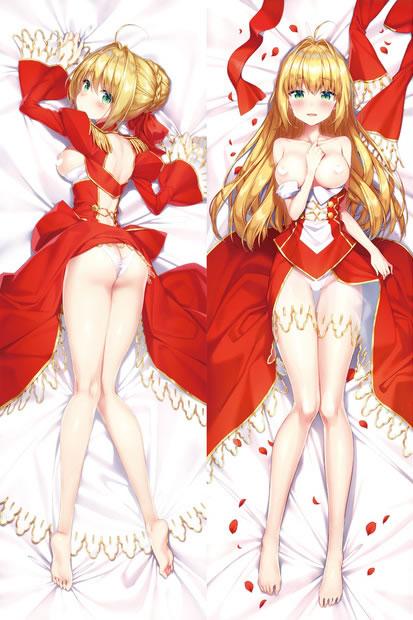 Fate/EXTRA ネロ・クラウディウス 抱き枕カバー