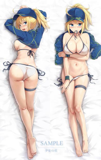 Fate/GrandOrder 謎のヒロインX 抱き枕カバー