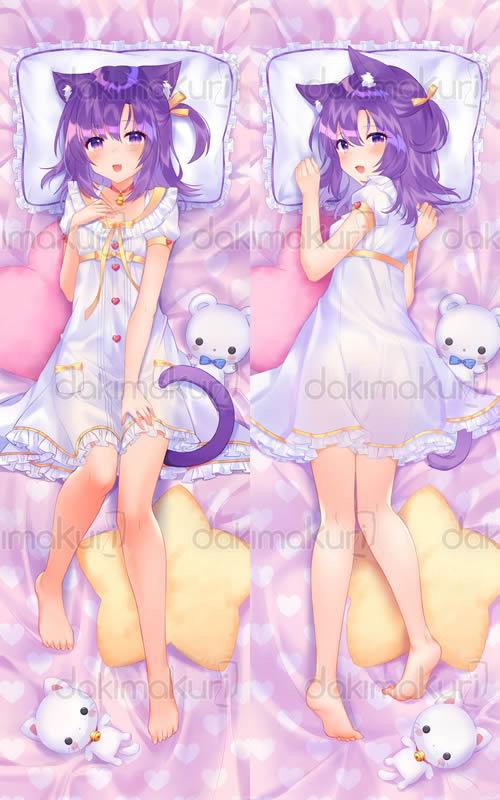 ネコぱら シナモン 抱き枕カバー