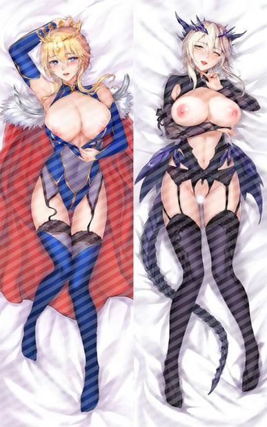 Fate/GrandOrder アルトリア・ペンドラゴン(槍)&アルトリア・ペンドラゴン(槍オルタ) 抱き枕カバー