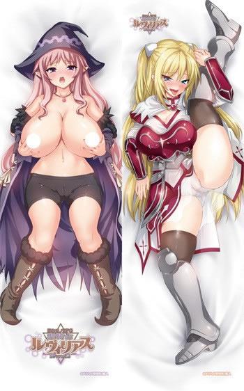 堕ちモノRPG 聖騎士ルヴィリアス リフリア&ルヴィリアス 抱き枕カバー