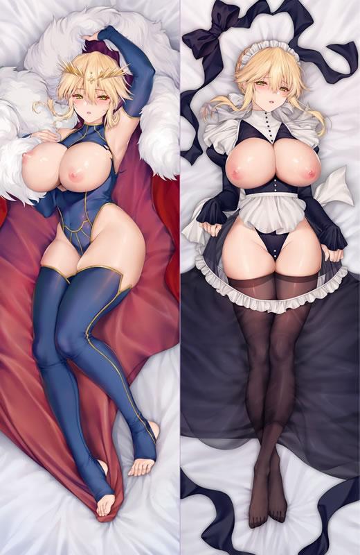 Fate/GrandOrder アルトリア・ペンドラゴン(槍オルタ) 抱き枕カバー